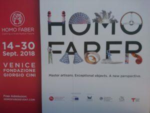 Foto interna Homo Faber 2018