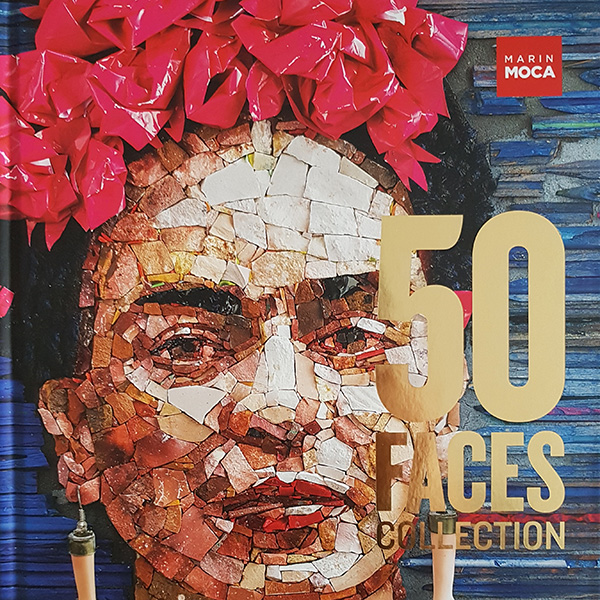 50 Faces catalog of the exhibition at MarinMOCA