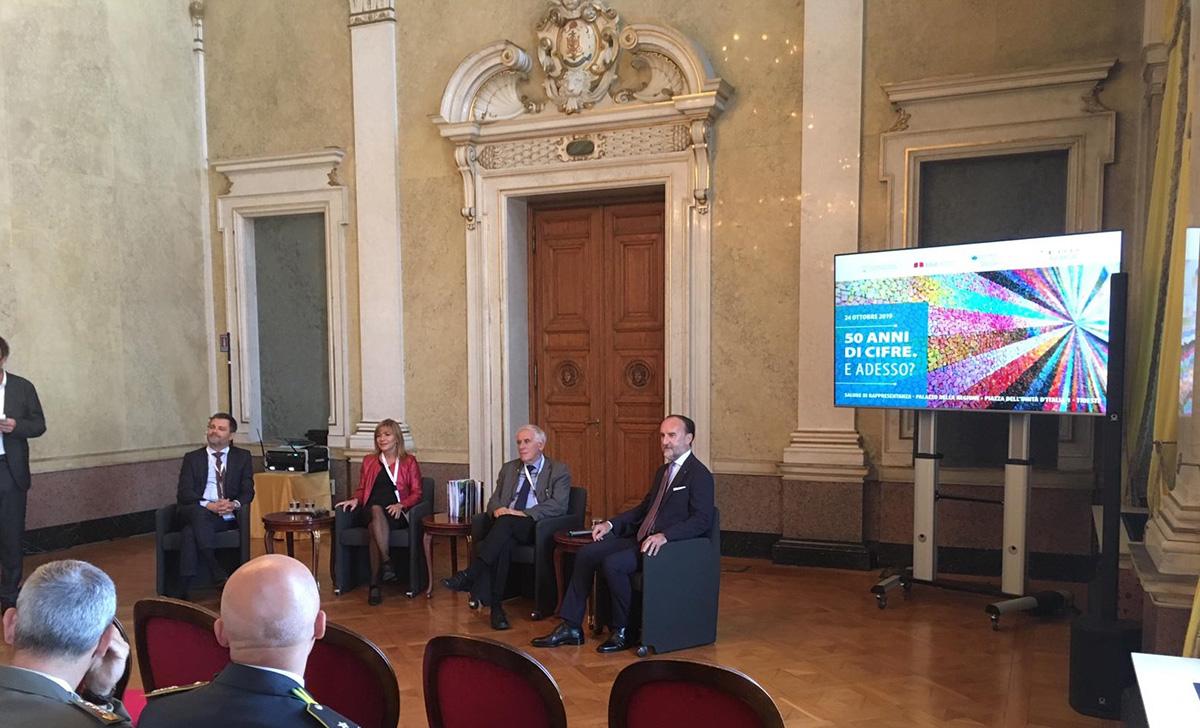 Alla presentazione a Trieste