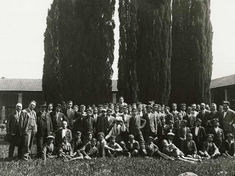 Visita di Istruzione al Museo Archeologico Nazionale il 2 giugno 1930