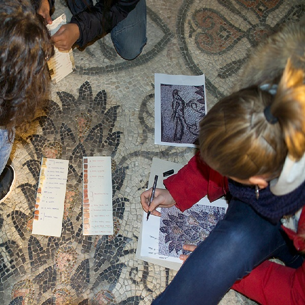 Study of the mosaics of the bell tower
