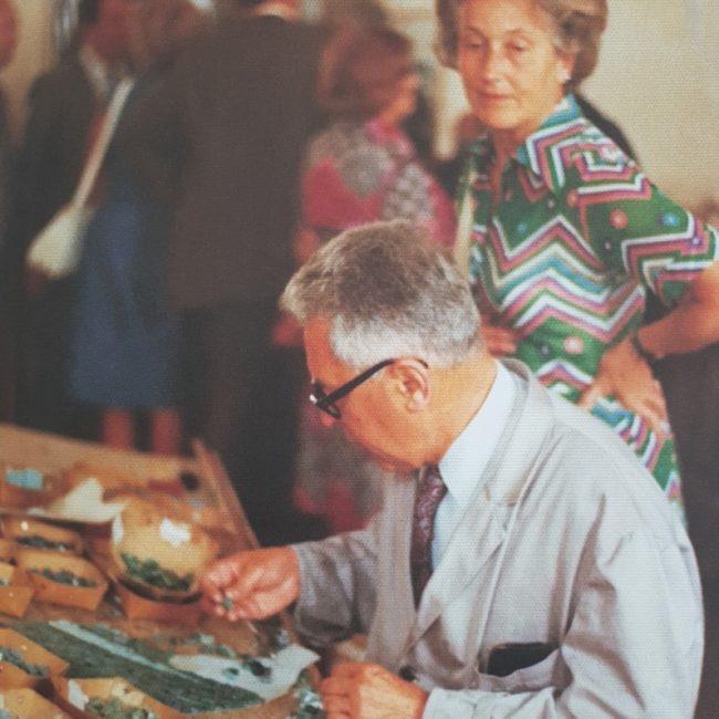 master mosaicist at work