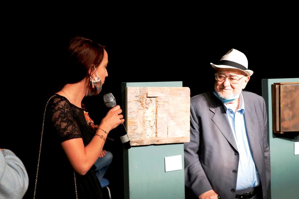 Sabrina Kurdic with Pietro Ronzat