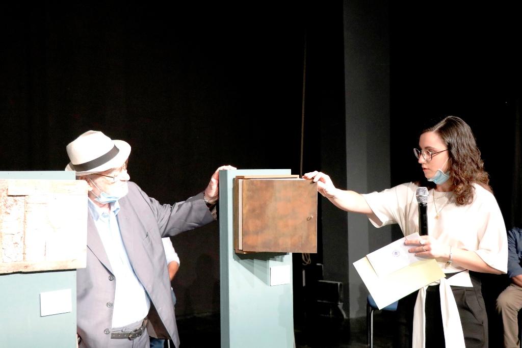 Stella Zannier with Pietro Ronzat