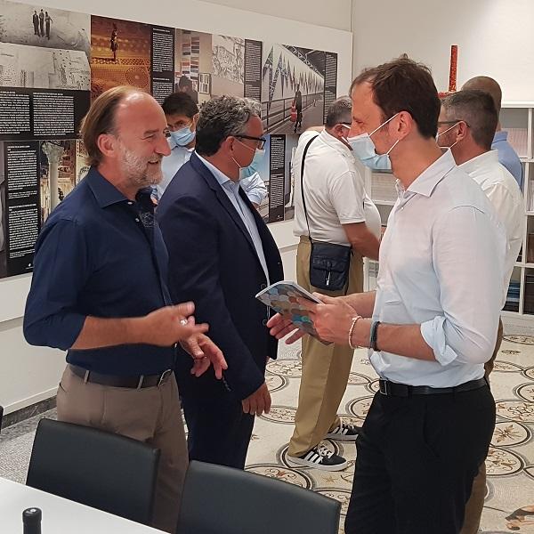Il Presidente Fedriga e il Presidente Lovison