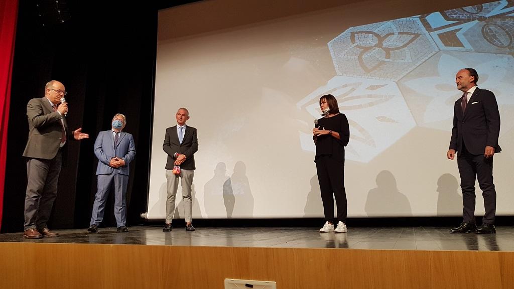 28 settembre 2020 cerimonia inaugurale al Teatro Miotto di Spilimbergo