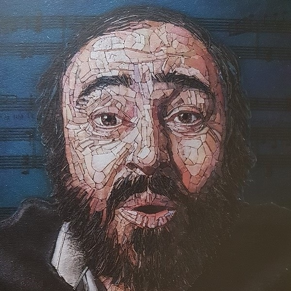 Ritratto Pavarotti 2019