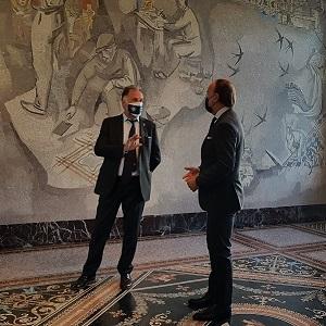 visita ministro Garavaglia